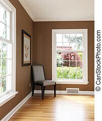 客廳, windows., 二, 角落, 椅子