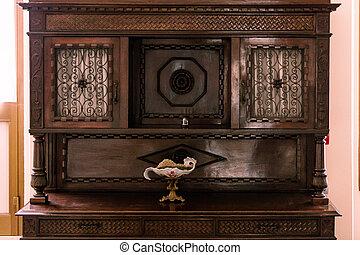 家具, 木制, 第一流, 古董, 胸膛, 抽屜