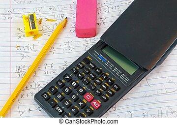 家庭作業, 數學