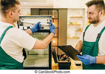 家庭維修, 冰箱, 技師, 制服