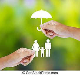 家庭, 概念, 保險