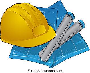 家建設, 圖象