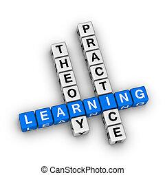 實踐, -, 理論, 學習