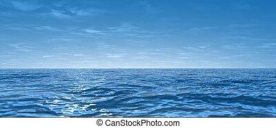 寬, 海洋