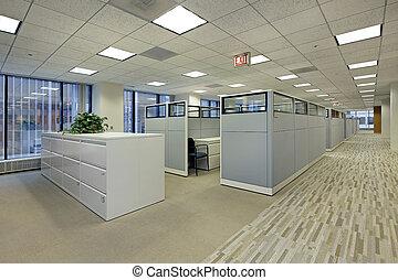 小室, 辦公室, 區域