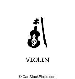 小提琴, 矢量, 套間, 圖象