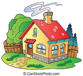 小的房子, 家庭