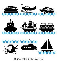 小船, 圖象
