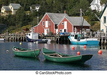 小船, 海灣