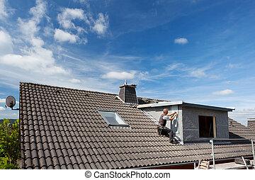 屋頂, 屋面工, 工作, 看法