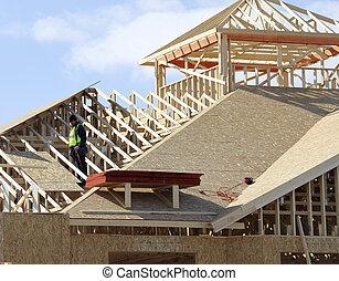 屋頂, 木匠