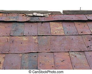 屋頂, 3, 錫