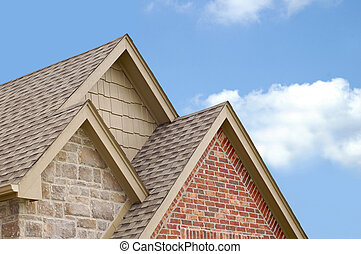 山牆, 三, 屋頂