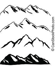 山高峰, 多雪