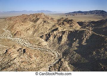山。, 沙漠