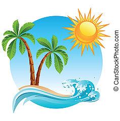 島, 熱帶