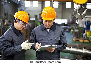 工人, 工廠