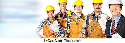 工人, 建設, 隊
