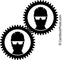 工人, helmet., 圖象