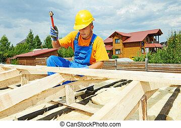 工作, 屋面工, 屋頂