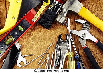 工作, 工具