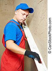 工作, 抹灰工