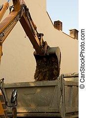 工作, 挖掘機