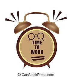 工作, 時間鐘
