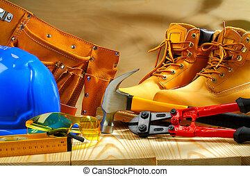 工作, 板, 作品, 工具, 木制