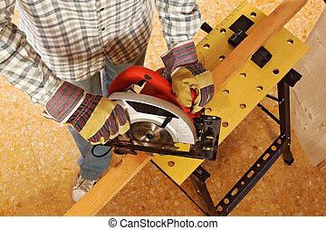 工作, 細節, 木匠