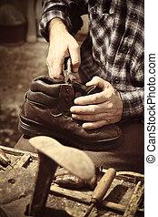 工作, 補鞋匠