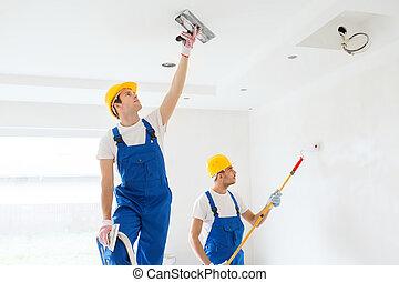 工具, 在室內, 組, 建造者