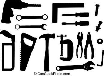 工具, 集合, 矢量