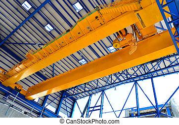 工廠, 在頂上, 起重機