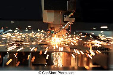 工業的激光, 刀具