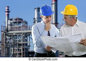 工業, 二, 建築師, 隊, 專門技能, 工程師