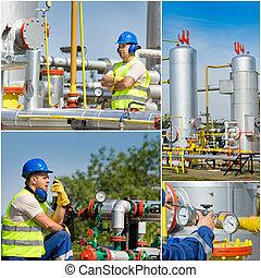 工業, 油, 气体