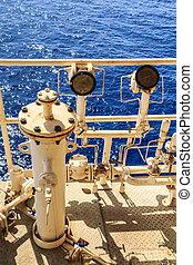 工業, 油, 气体, 离岸