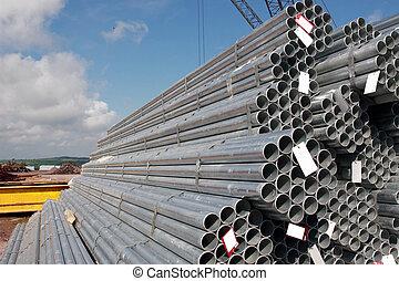 工業, 鋼