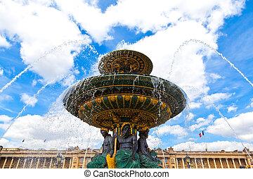 巴黎, 泉水