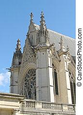 巴黎, vincennes, 皇家, 城堡, 教堂