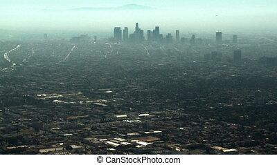 市區的瞧 angeles, 空中