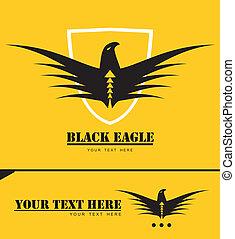 布萊克鷹狀標飾, 被風格化