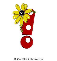 希腊語的第一個字母, 向日葵, 驚呼, 葡萄樹