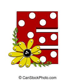 希腊語的第一個字母, 向日葵, e, 葡萄樹