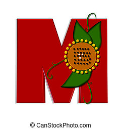 希腊語的第一個字母, 向日葵, m