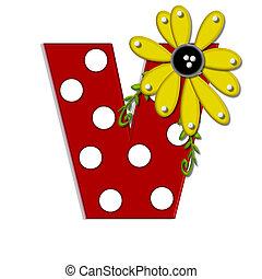 希腊語的第一個字母, 向日葵, v, 葡萄樹