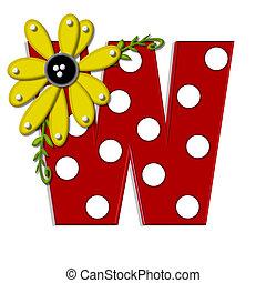 希腊語的第一個字母, 向日葵, w, 葡萄樹