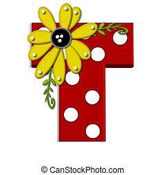 希腊語的第一個字母, t, 向日葵, 葡萄樹
