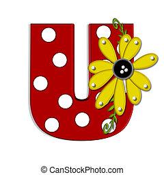 希腊語的第一個字母, u, 向日葵, 葡萄樹